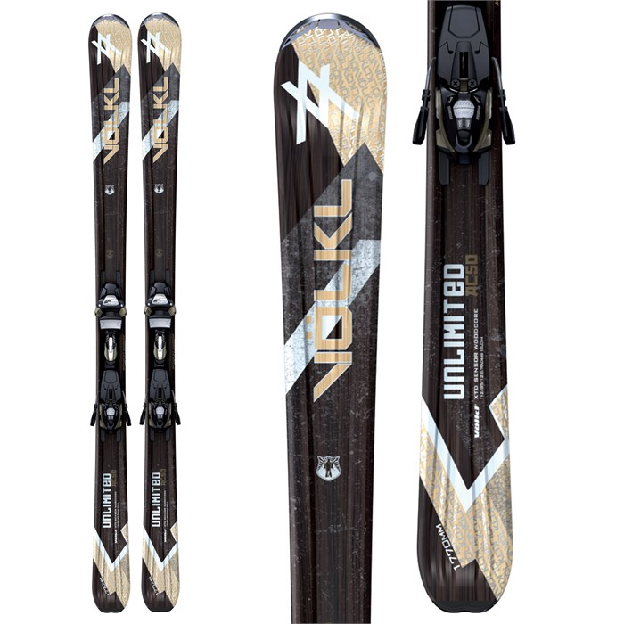 Volkl - AC50 Skis + iPT Wide Ride 12.0 Bindings 2011