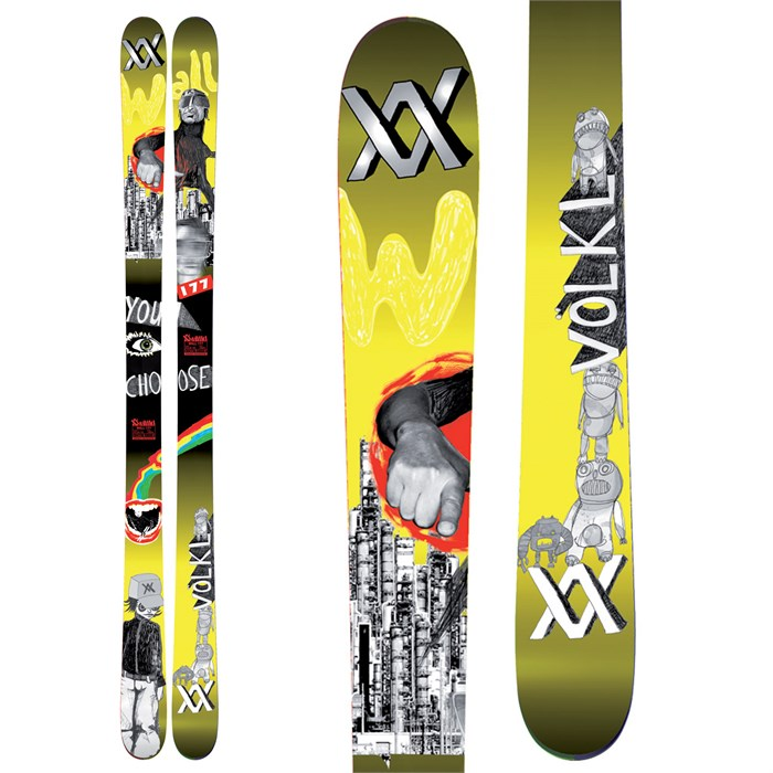 Volkl - Wall Skis 2011