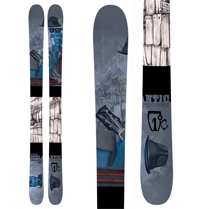 Icelantic - Nomad Skis 2011