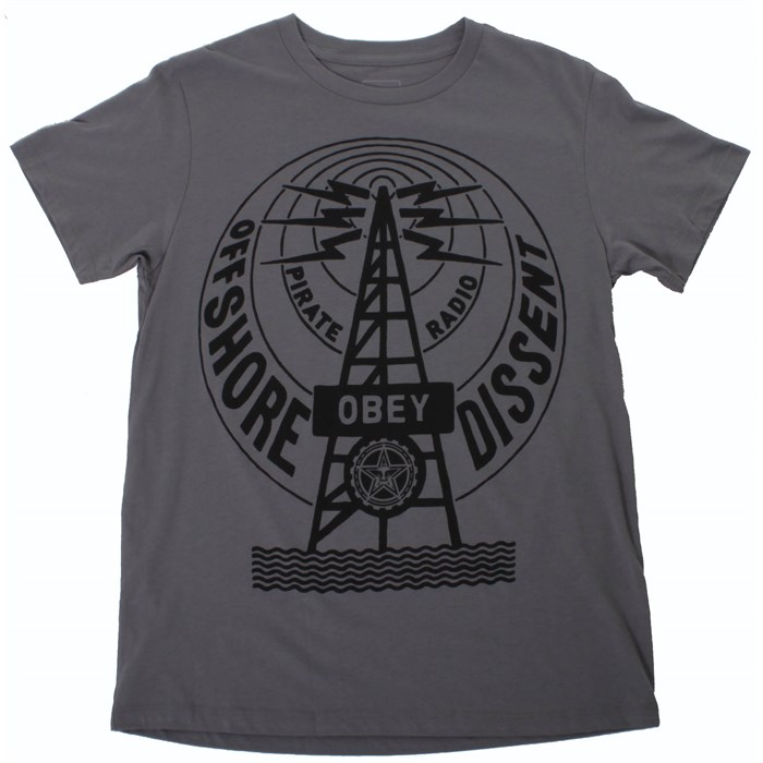 Obey Clothing - Pirate Radio T Shirt