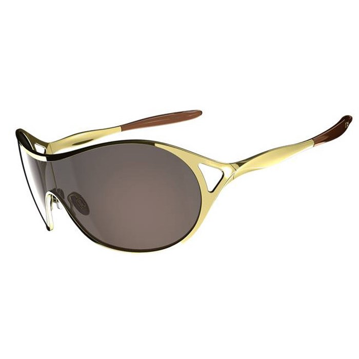oakley dangerous sunglasses womens  oakley deception sunglasses women s polished gold vr50 brown gradient