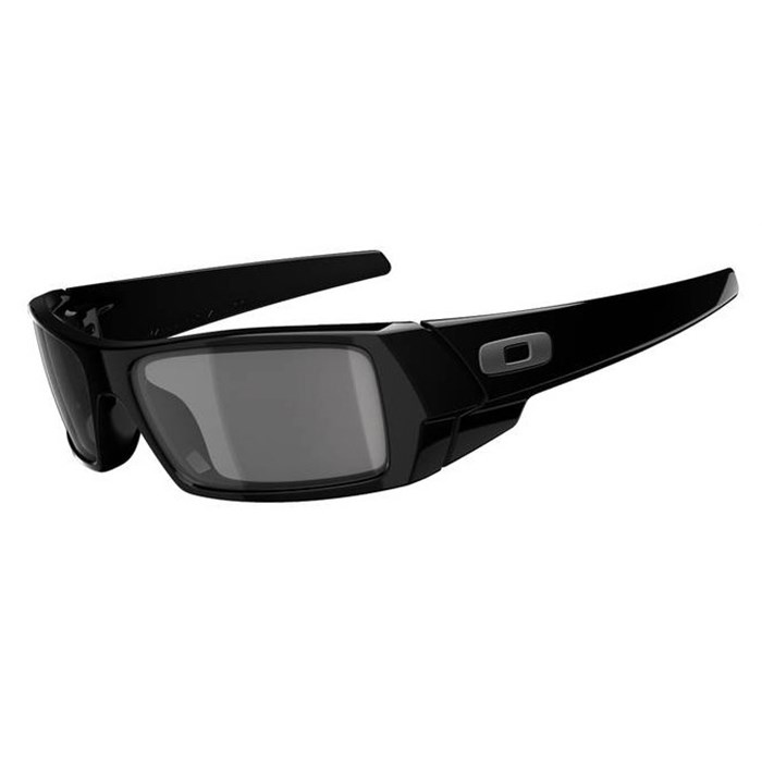 oakley gascan american flag sunglasses  oakley gascan sunglasses polished black grey front