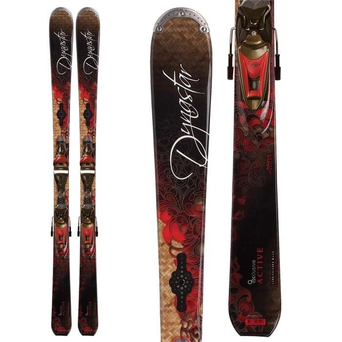 Dynastar Exclusive Active Skis + Nova 10 ACF Bindings