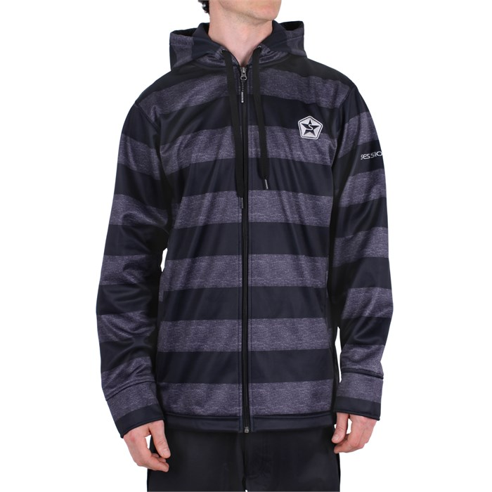 Sessions - Kreuger Stripe Softshell Jacket