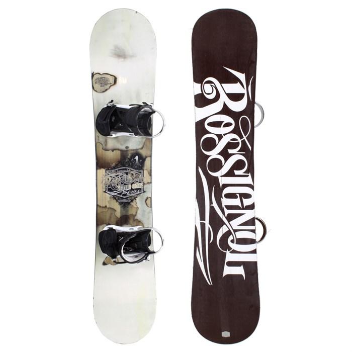 Rossignol One Mag Wide Snowboard + Bindings