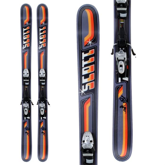 Scott P4 Skis + Bindings - Used 2009