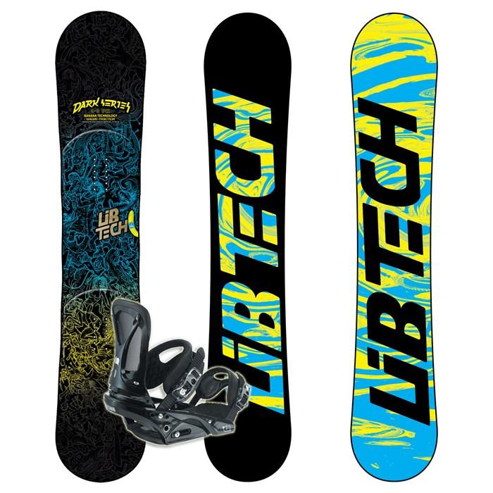 Lib Tech Dark Series C2BTX Wide Banana Rocker Snowboard
