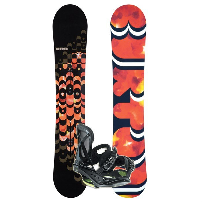 Burton Feelgood Channel Snowboard + Escapade EST Snowboard Bindings -  Women s - Used 2010 - Used  b242dc2af5