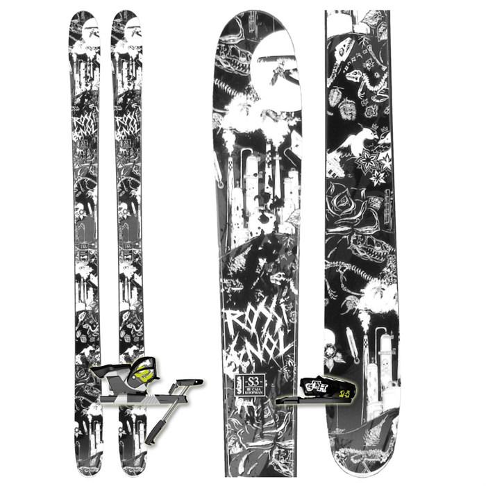 Rossignol S3 Skis + Salomon STH 14 Bindings - Used 2010
