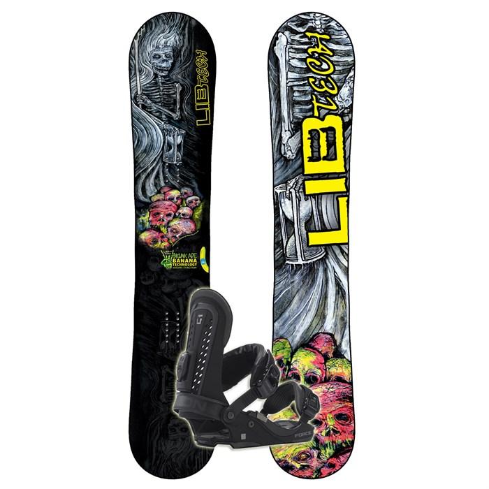 Lib Tech Skunk Ape BTX Wide Banana Rocker Snowboard
