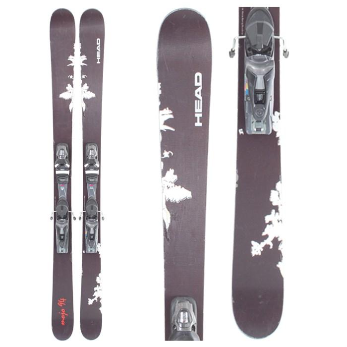 Head Mojo 94 Skis + Bindings - Used 2009 - Used