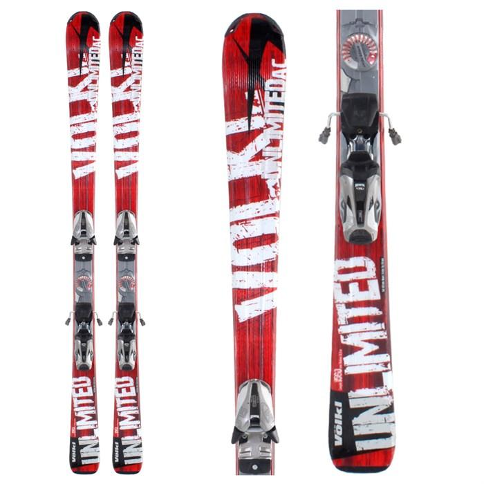 Völkl - Volkl Unlimited AC Skis + Bindings - Used 2009 - Used