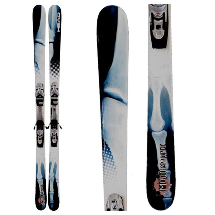 Head Mojo Spawn 1 Skis + Bindings - Used 2008 - Used