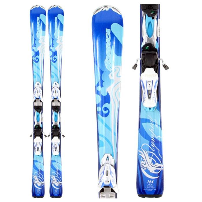 Nordica Olympia Mint Skis + Bindings