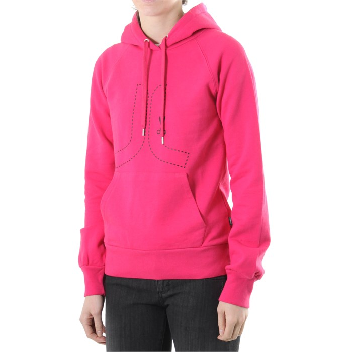 Wesc - Cut Here Icon Pullover Hoodie - Women's