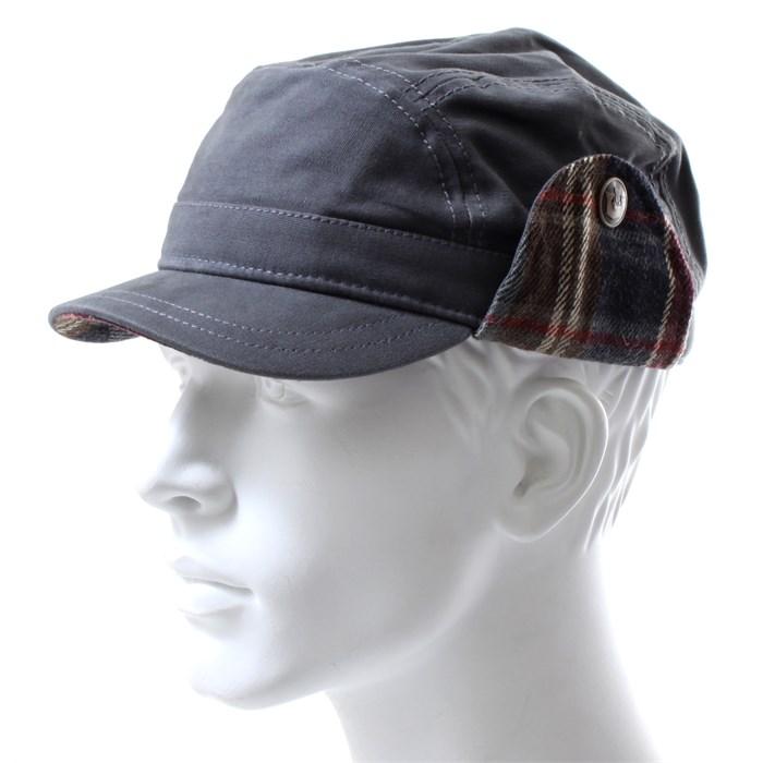 Goorin Brothers - Granite Ear Flap Cadet Hat ... 2406fa41f63