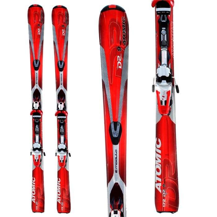 Atomic Drive 9 Titan Skis + Bindings - Used 2009