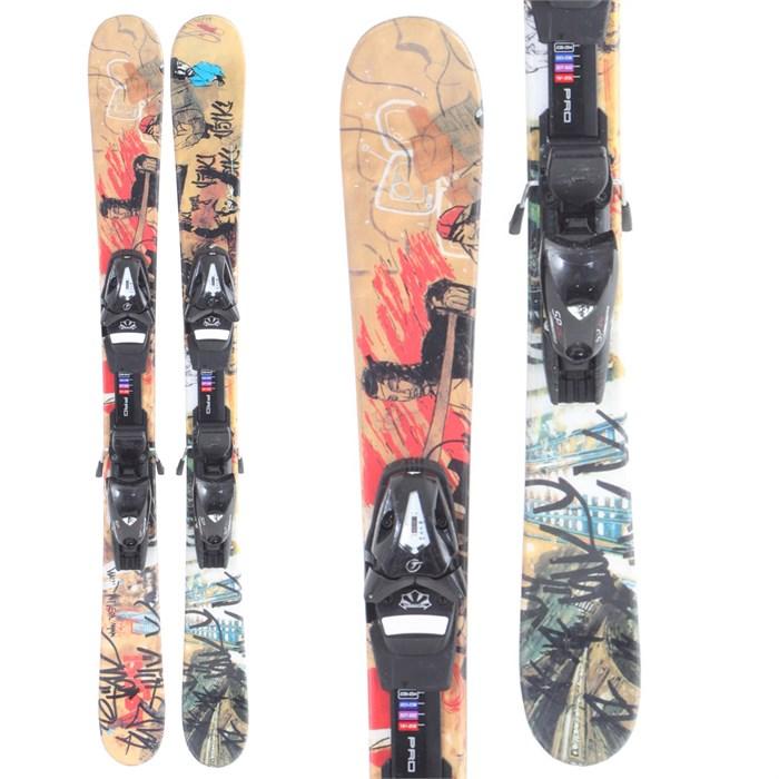 Volkl Bridge Jr Skis + Bindings - Youth - Used 2008