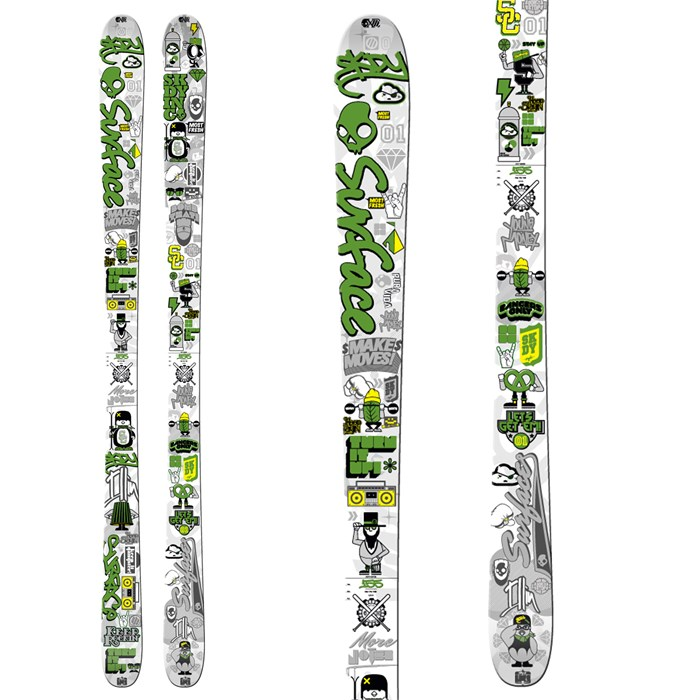 Surface - Skullcandy Next Time Skis - Youth 2011