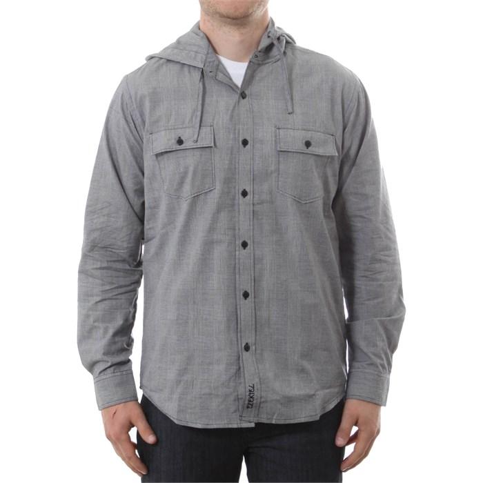 4311ec0d349 Ezekiel - Caldwell Hooded Button Down Shirt ...