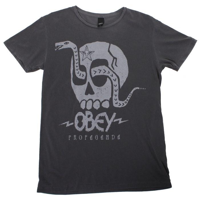 Obey Clothing - Metal Snake T Shirt