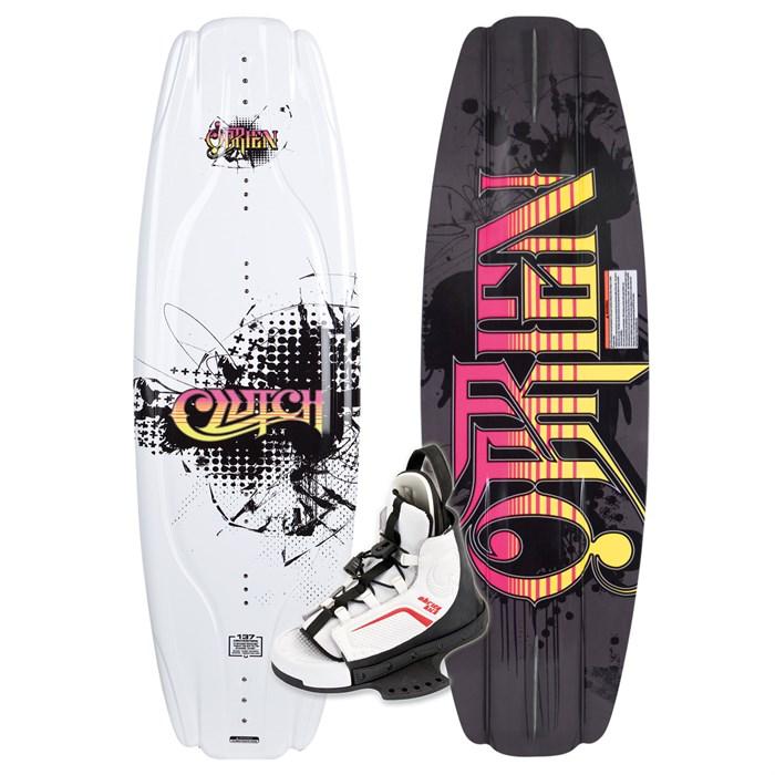 Obrien - Clutch Wakeboard + Kick Boots 2010