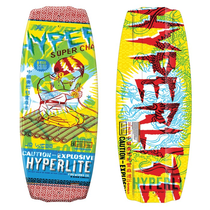 Hyperlite - B-Side Wakeboard 2011