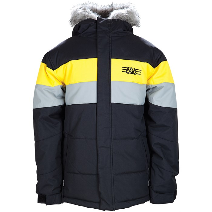 686 - Mannual Puffy Stripe Insulated Jacket - Youth - Boy's