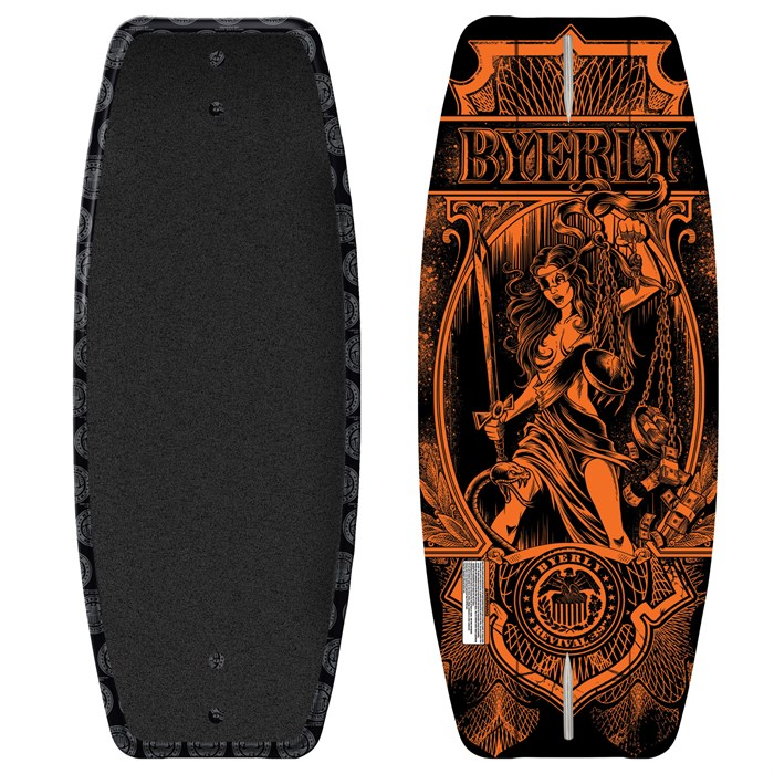 Byerly Wakeboards - Revival Wakeskate 2011