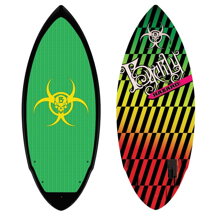 Byerly Wakeboards - Hazard Wakesurf Board 2011