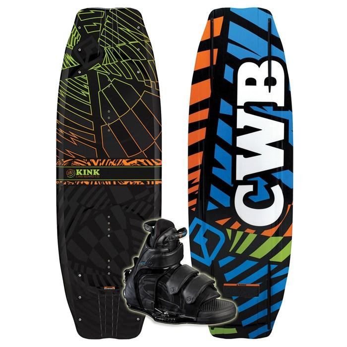CWB - Kink Wakeboard + Vapor Boots 2011