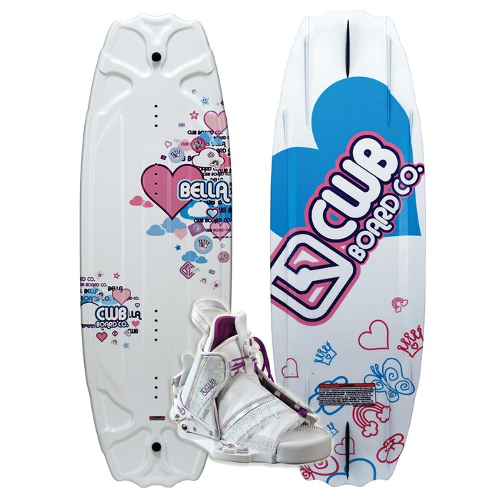 CWB - Bella Wakeboard + Bliss Boots - Girl's 2011