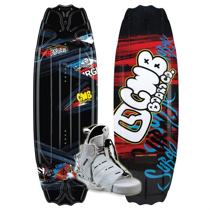 CWB - Surge Wakeboard + Seven Boots - Youth 2011