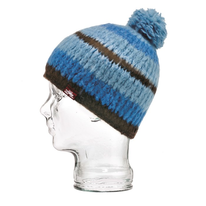Spacecraft - Igloo Pom Striped Beanie - Women's