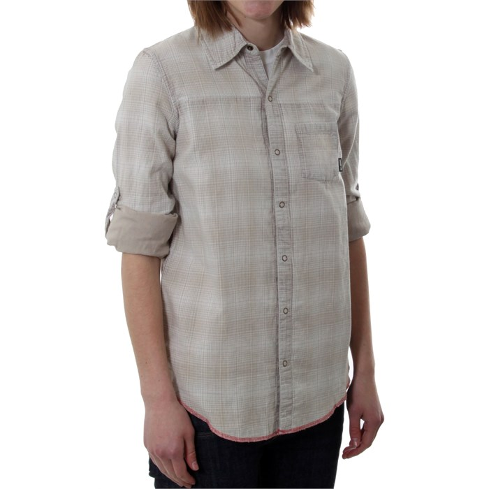 Billabong Grey Reversible Button Down Shirt - Women's | evo