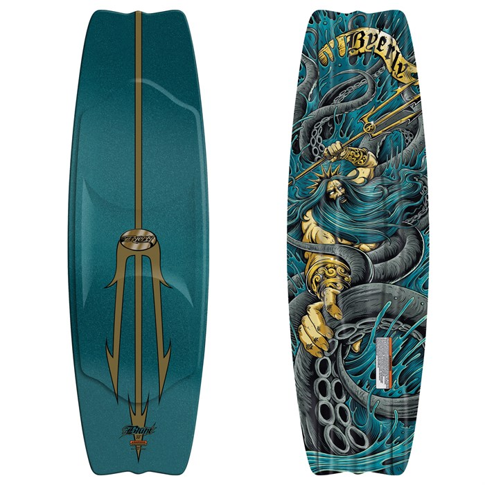 "Byerly Wakeboards - Byerly Wakeboards Blunt Wakeboard 53"" 2011"