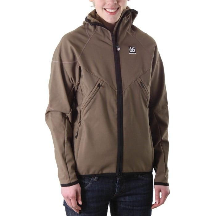 66 North - Glymur Hooded Softshell Jacket - Women's