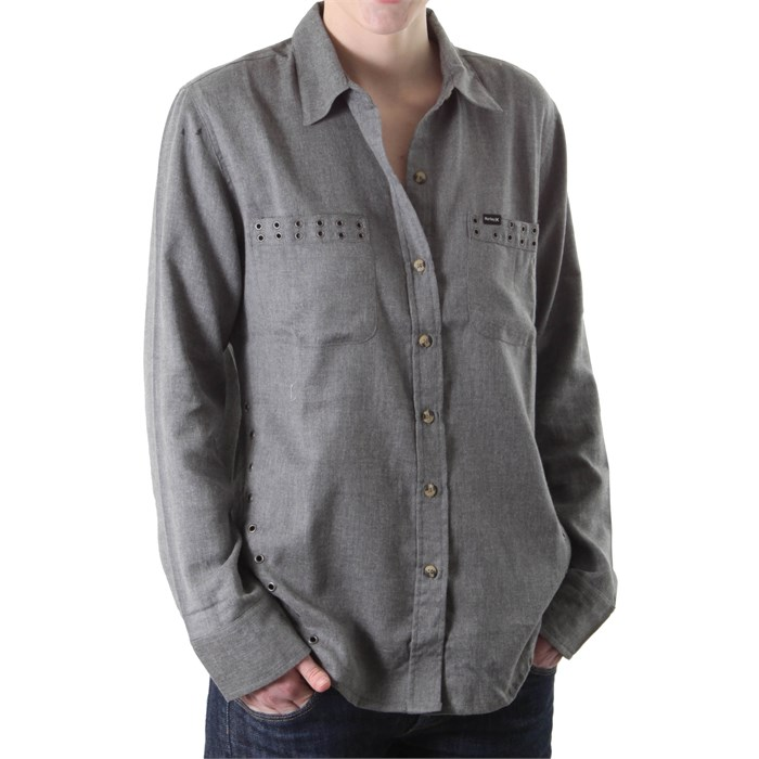 Hurley - Wilson ll Long Sleeve Button Down Shirt - Women's