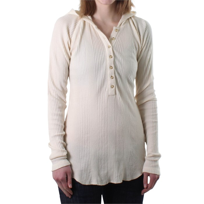 RVCA - My Isiah Hooded Henley Top - Women's