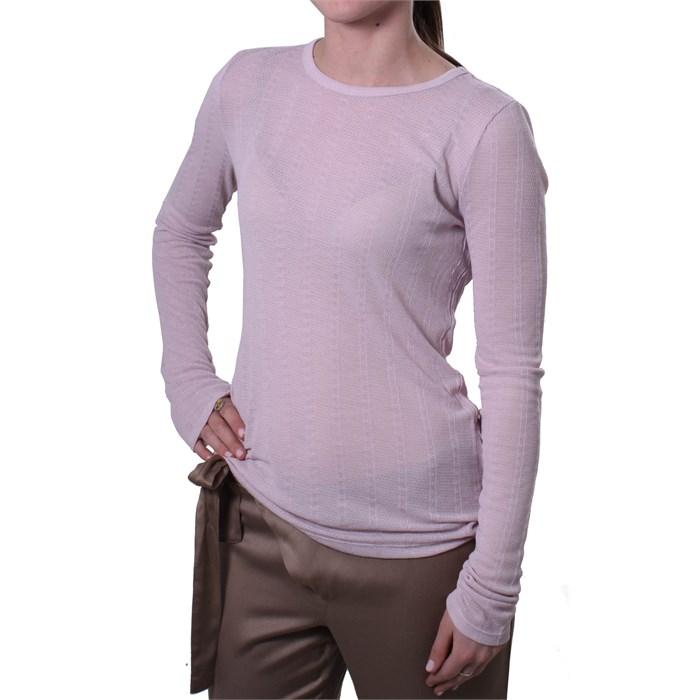RVCA - Quiet Eyes Crew Neck Top  - Women's