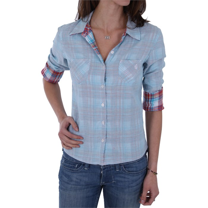 Volcom - Rumormill Reversible Button Down Shirt - Women's
