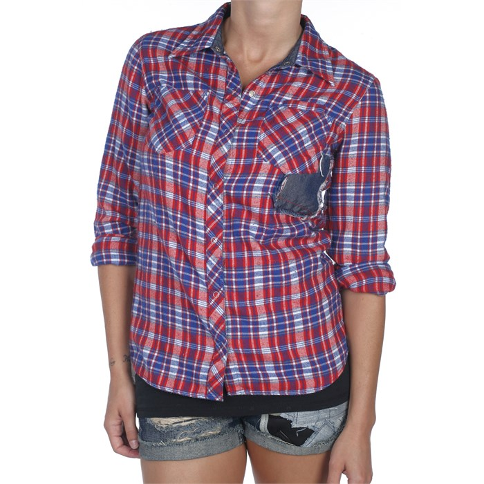Volcom - Hold Up Button Down Shirt - Women's