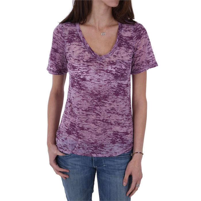Volcom - Moclov V Neck Pocket T Shirt - Women's