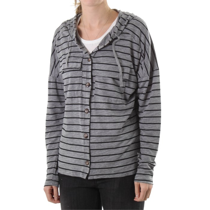 Volcom - Trigg Her Button Down Hoodie - Women's