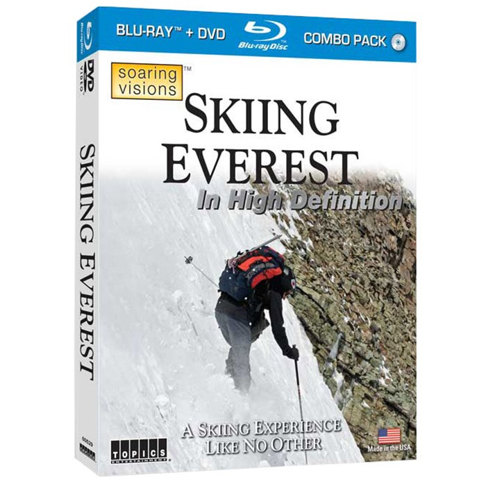 Topics Entertainment - Topics Entertainment Skiing Everest (Blu-Ray/DVD Combo)