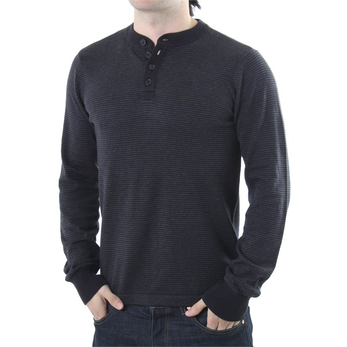 RVCA - Me Long Sleeve Henley Shirt