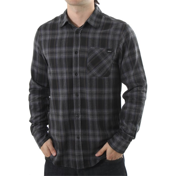 RVCA - Dalton Long Sleeve Button Down Shirt