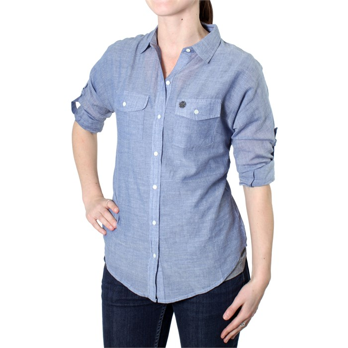 Obey Clothing - Wild Flower Button Down Shirt - Women's