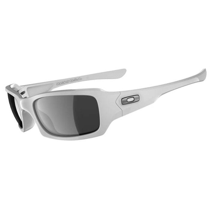 womens oakley fives squared sunglasses  oakley fives squared sunglasses polished white black iridium