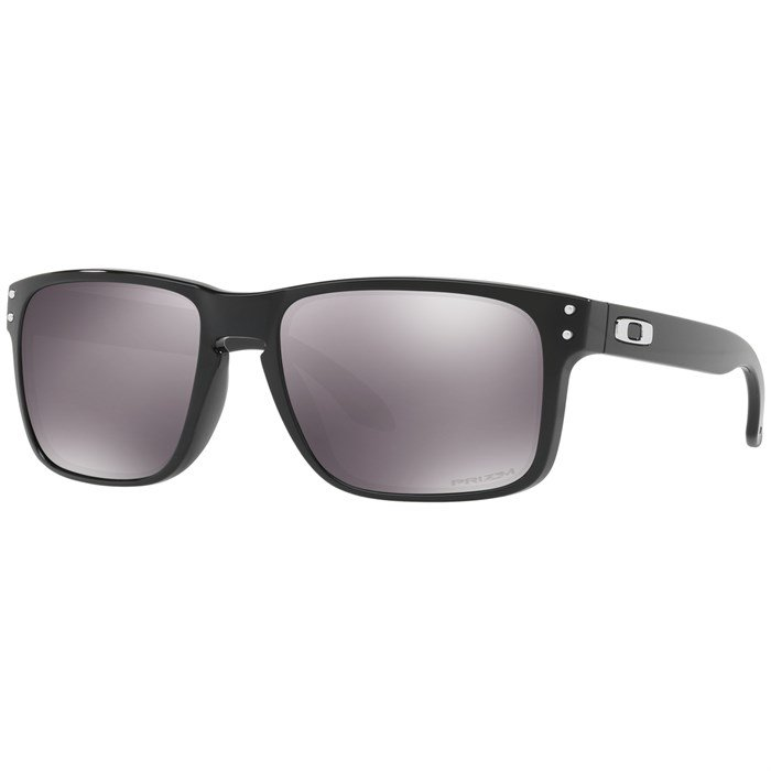 Oakley polarized holbrook sunglasses polished black/grey